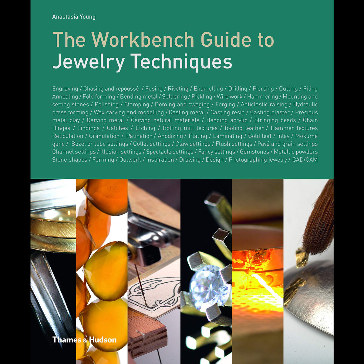 The Workbench Guide to Jewelry Techniques, SIGNED COPY - product images  of