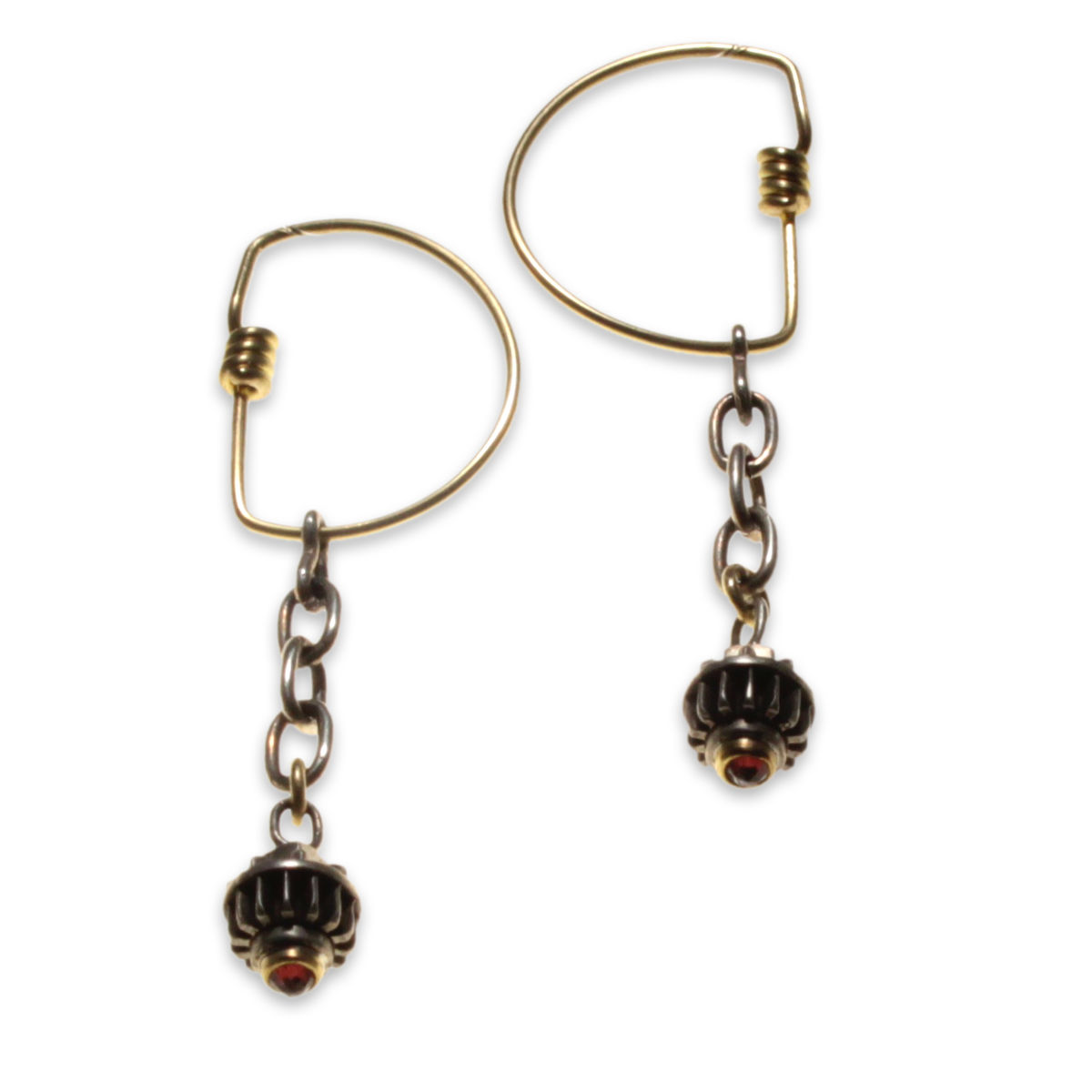 8pT.chain Hoop Earrings - product image