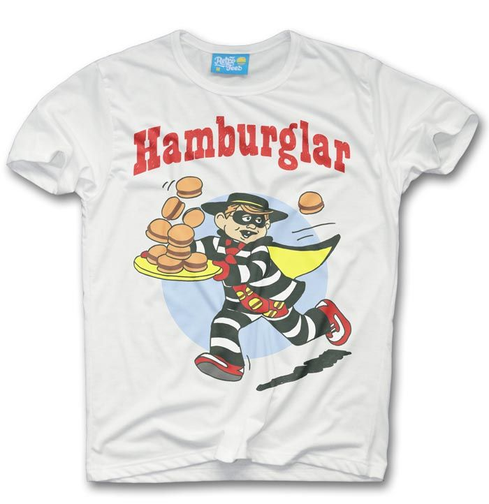Hamburglar T-shirt - McDonalds inspired  - product images  of