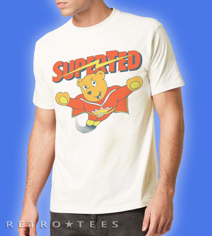 Superted Mens Logo T-shirt - product images  of