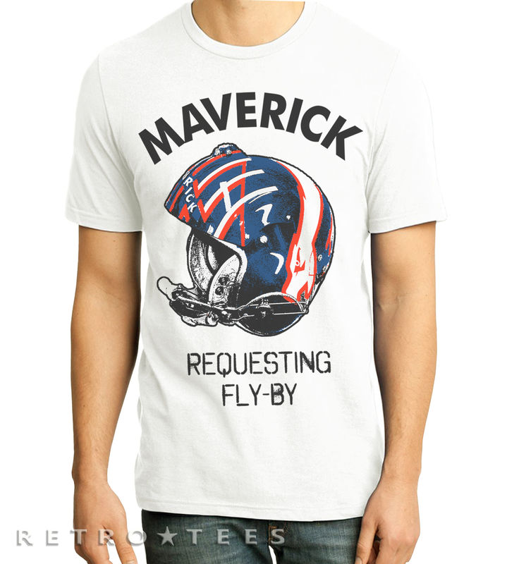Mens Maverick Requesting Fly By T-shirt - product images  of