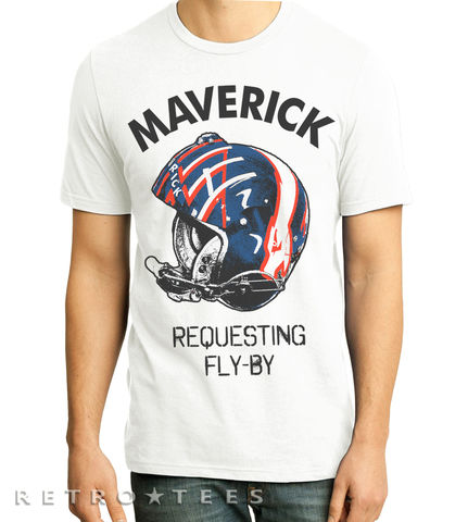Mens,Maverick,Requesting,Fly,By,T-shirt,Topgun, goose, hard deck, movie, take my breath away, 1986, tom cruise, val kilmer, iceman, viper, wingman, retro