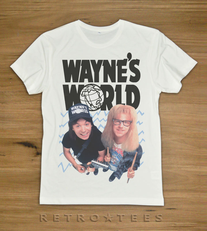 Wayne's World Movie Ladies T-shirt - We're not worthy! - product images  of