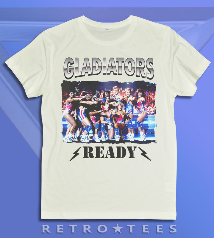 Men's Awesome Gladiators Ready T-Shirt - Vintage White  - product images  of