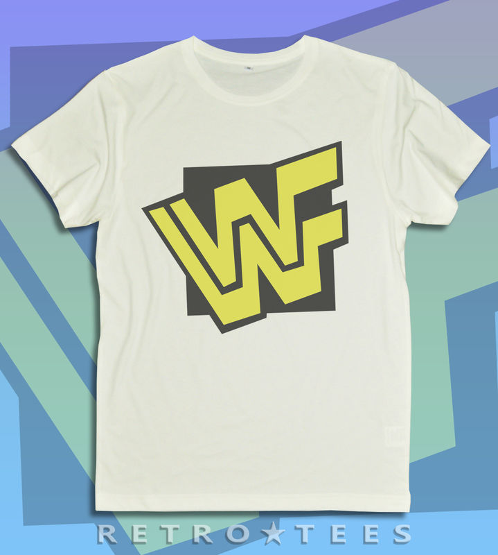 MEN'S WWF Logo T-shirt - VINTAGE WHITE - product images  of