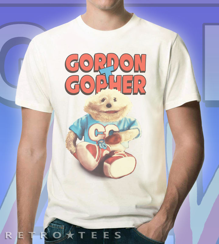 Men's Retro Gordon The Gopher T-shirt - product images  of