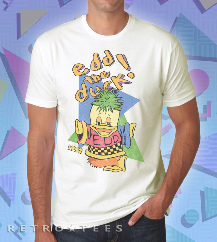 Men's Edd The Duck T-shirt - Retro Tees - product images  of