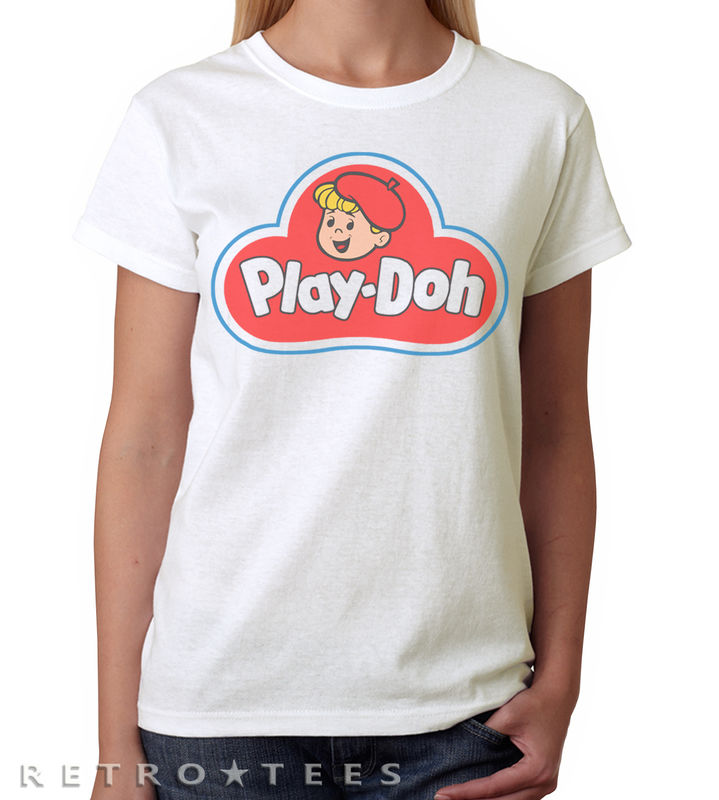 Play Doh Logo Ladies T-shirt  - product images  of