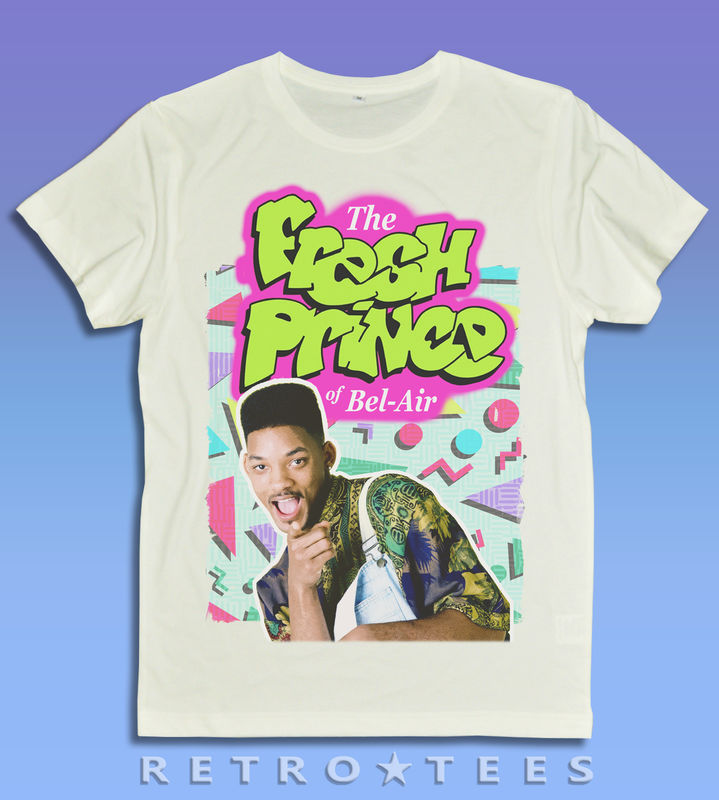 MEN'S The Fresh Prince of Bel-Air T-shirt - Retro Tees - product images  of