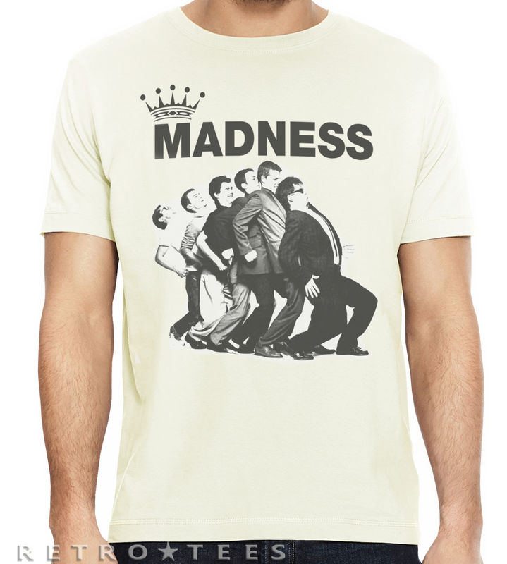 Men's MADNESS T-Shirt - One Step Beyond, Our House Fan Shirt - product images  of