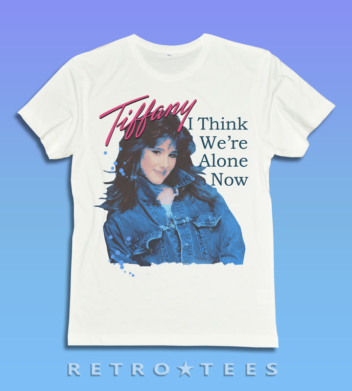 80s Pop Tiffany Ladies T-shirt - I Think We're Alone Now - product images  of