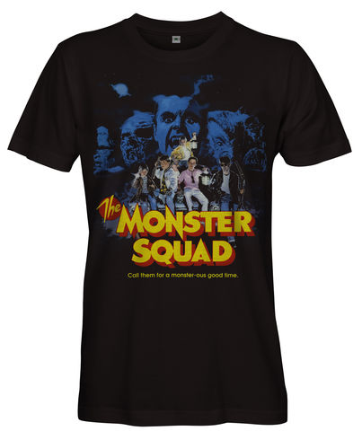 THE,MONSTER,SQUAD,Film,Poster,T-shirt,-,Ladies,Classic THE MONSTER SQUAD 80s movie Film fan T shirt 1987 American comedy horror film Halloween