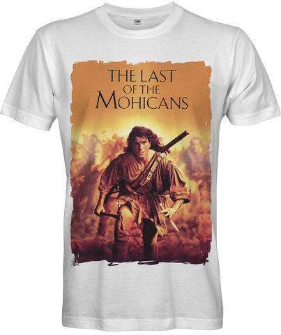 LAST,OF,THE,MOHICANS,MOVIE,POSTER,T-shirt,-,Men's,LAST OF THE MOHICANS MOVIE POSTER 1992 American epic historical drama film TV Retro 80s retro t-shirt movie Fan Gift 70s 1970 French and Indian War