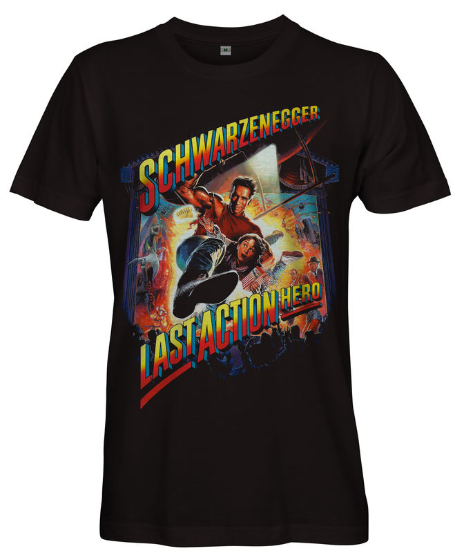 LAST ACTION HERO Film Poster T-shirt - Ladies  - product images  of