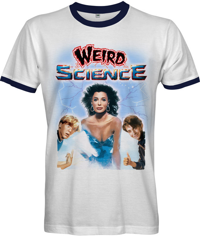WEIRD SCIENCE Poster T-shirt - 80s Movie Tee - product images  of