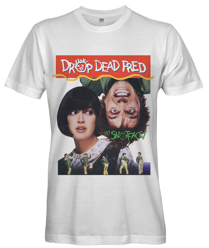 DROP DEAD FRED Movie Poster T-shirt - Ladies - product images  of
