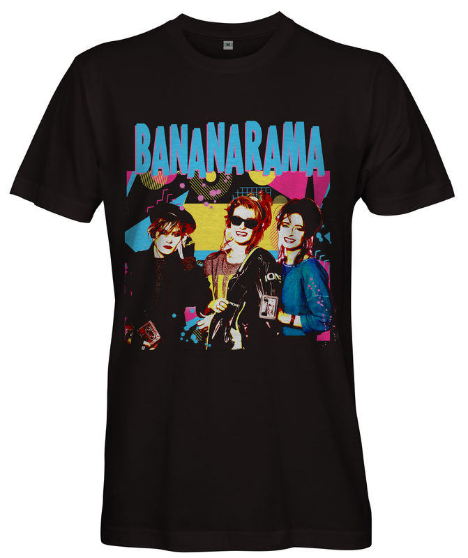 80s BANANARAMA T-shirt - Ladies - product images  of
