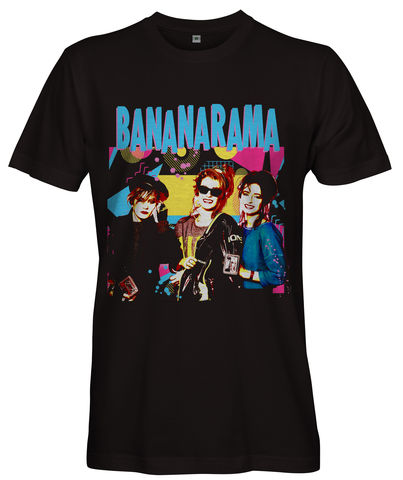 80s,BANANARAMA,T-shirt,-,Ladies,Bananarama T-shirt Love in the First Degree Venus Cruel Summer wild Boys 80s music Fan