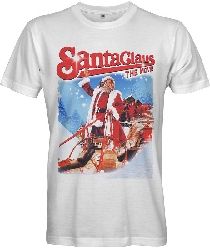 SANTA CLAUS THE MOVIE Men's T-shirt - Christmas Poster Print - product images  of