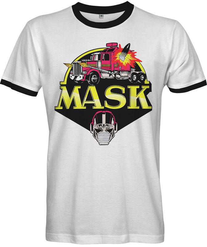 M.A.S.K Retro 80s Cartoon T-Shirt  - product images  of