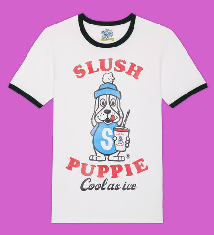 Slush,Puppie,–,Cool,As,Ice,-,Official,Licensed,T-Shirt,by,Famous,Forever,Slush Puppie Cool As Ice 70s 80s 90s retro vintage t shirt  Famous Forever