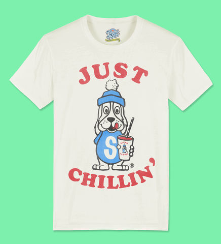 Slush,Puppie,–,Just,Chillin,-,Official,Licensed,Men's,T-Shirt,by,Famous,Forever,Slush Puppie Cool As Ice 70s 80s 90s retro vintage t shirt  Famous Forever