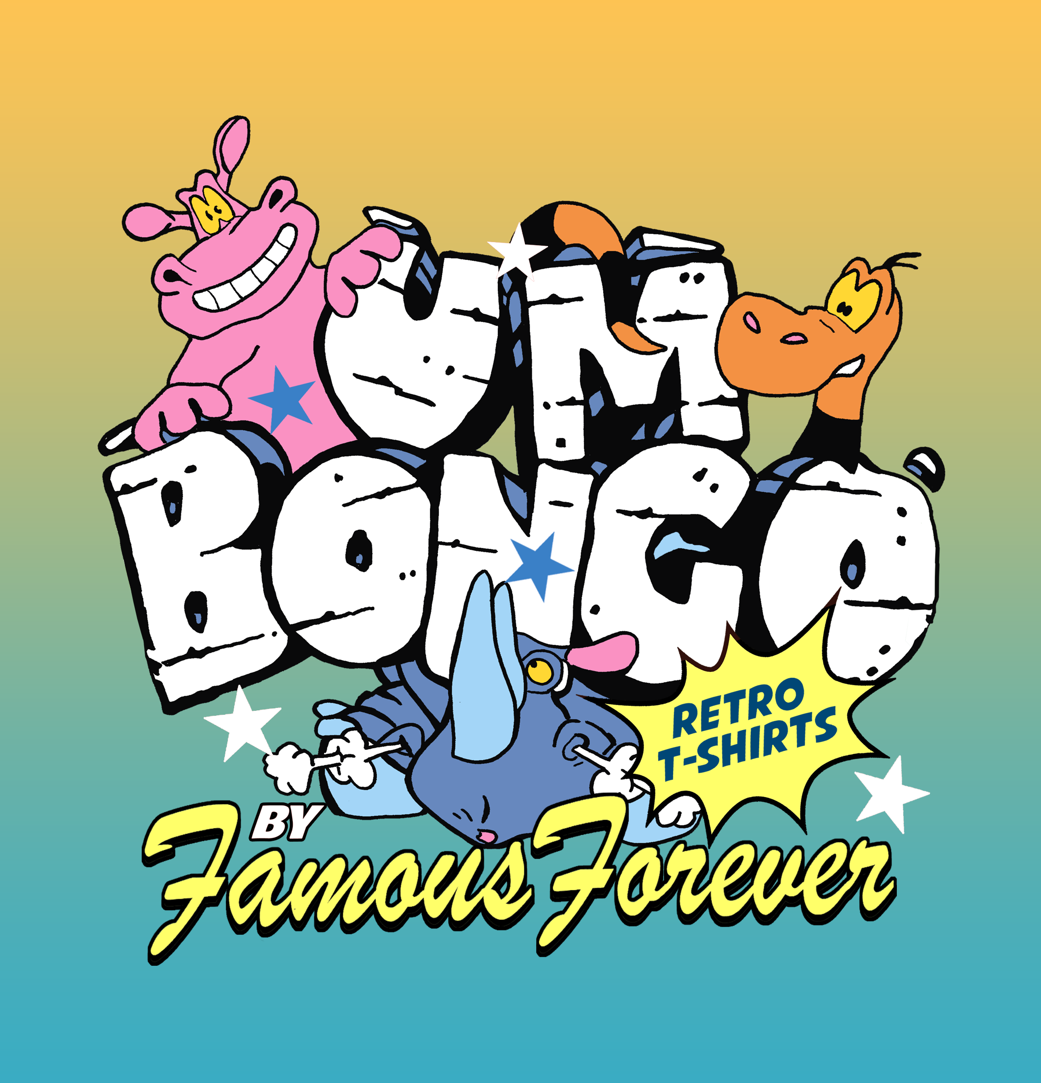 Um Bongo T-Shirts by Famous Forever