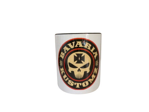TASSE,BK,Brotherhood Bavaria Kustomz Sticker Tasse