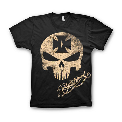SKULL,Brotherhood Bavaria Kustomz Shirt