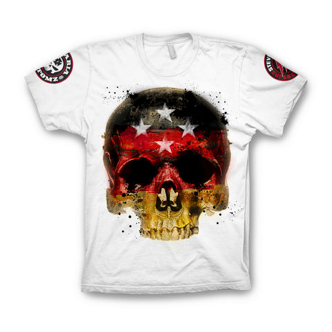 CHAMPZ,German Skull Bavaria Kustomz Shirt Champz