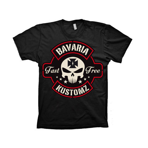 BLK,B,Brotherhood Bavaria Kustomz Shirt