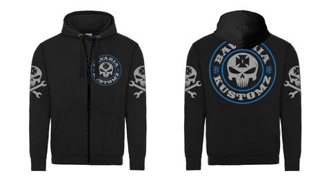 ZIPPER,18,SHIRT Brotherhood bavaria kustomz German ONE 2018