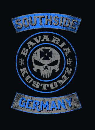 ZIPPER,Jacke Brotherhood bavaria kustomz german