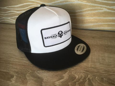 B&W,Brotherhood Bavaria Kustomz cap