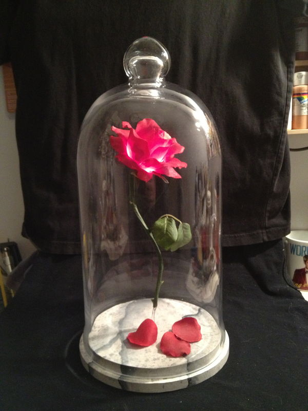 Beauty and the Beast Rose- Prop Replica - product image