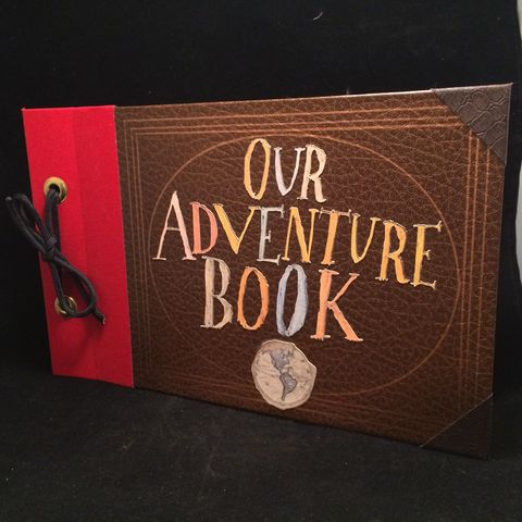My,Adventure,Book,Full,Scale,Scrapbook,My Adventure Book, UP, Our Adventure Book, scrapbook, replica
