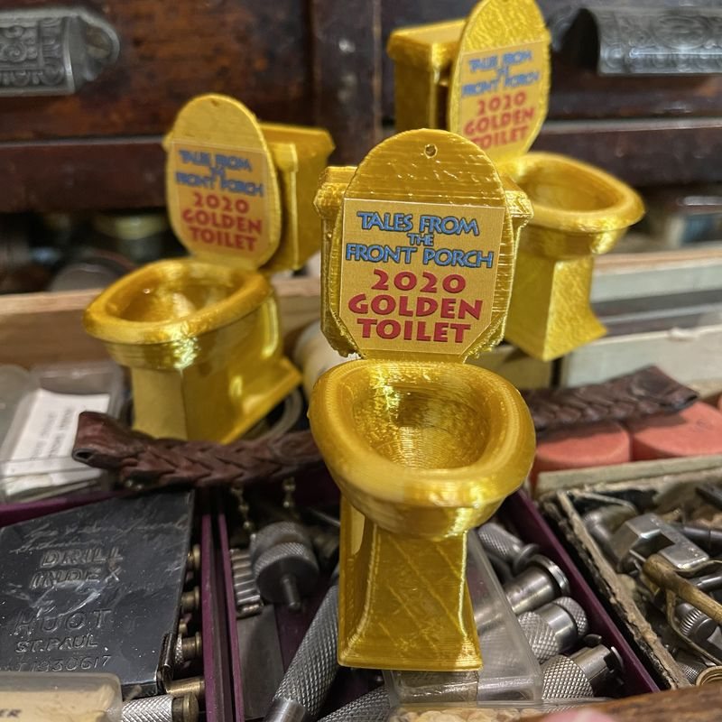 2020 Tales Golden Toilet - product image