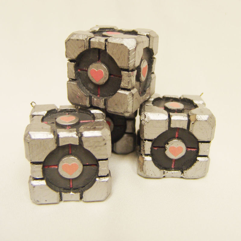 Companion Cube Ornaments - product image