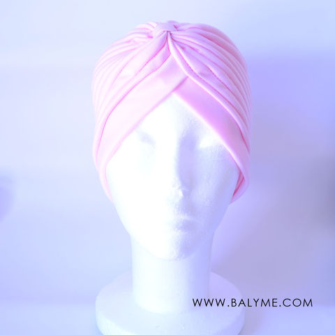 SOFT,PINK,TURBAN,/,TURBANTE,ROSA,CLARO,TURBANTE PARA BODAS, TURBANTE MUJER, TURBAN HEADBAND, TURBAN WEDDING, TURBAN WOMEN