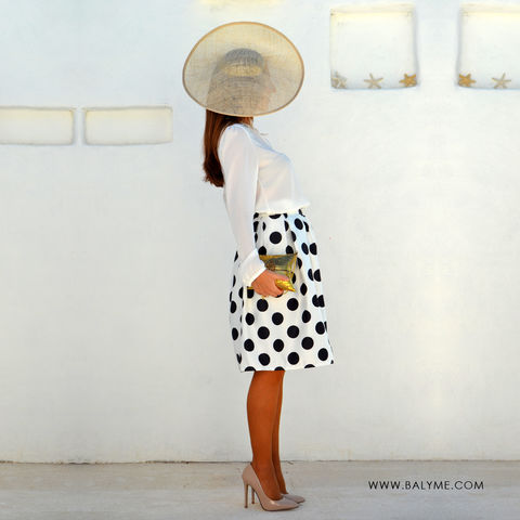 PORTOFINO WHITE SKIRT/ FALDA BLANCA - product images  of