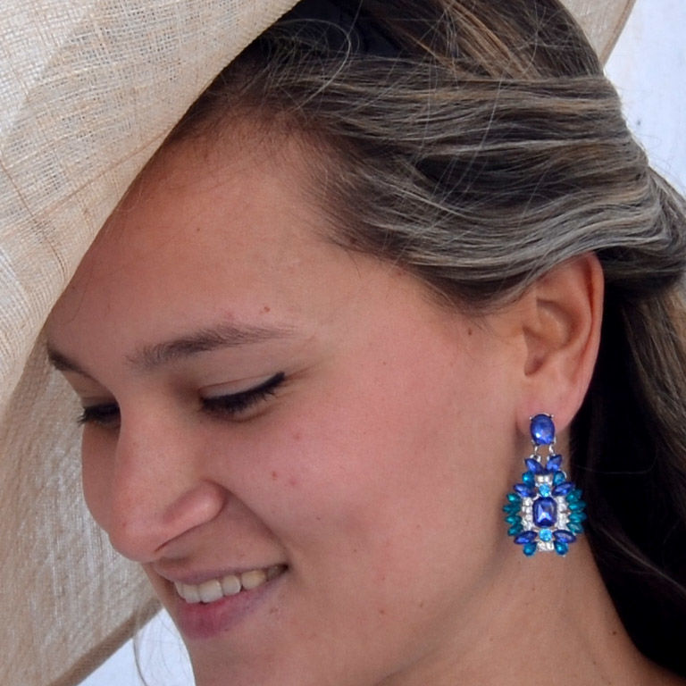 Derby Earrings / Pendientes - product images  of
