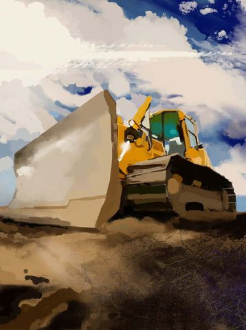 Big,Yellow,Cat,catapillar,trencher,construction artist, bulldozers, construction art, cement, concrete, concrete work, concrete workers, big iron, ironworkers, drilling, earth movers, building, contractors, heavy equipment, work crews, catapillars, highways, freeways, h
