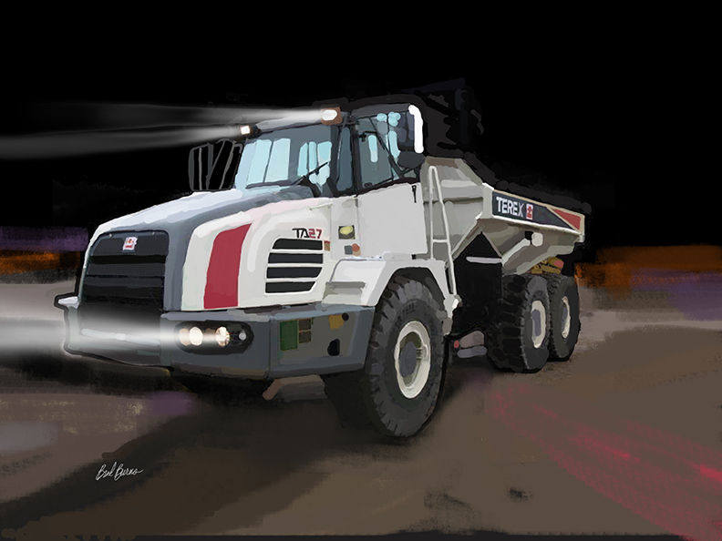 Terex TA27 Articulated Dump Truck - product images
