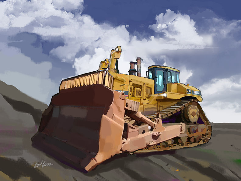 Caterpillar D11 Track Dozer - product images