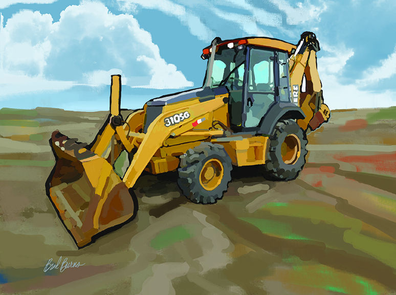 John Deere Backhoe Loader - product images