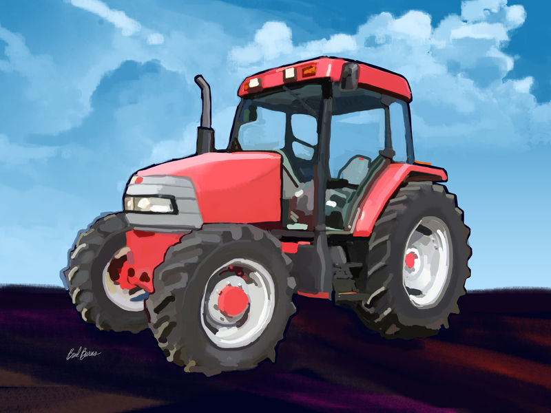 McCormick CX95 Farm Tractor - product images