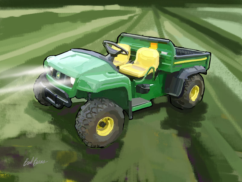 John Deere TS Gator Utility Vehicle - product images