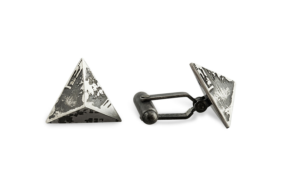 SOUVENIR pyramid cufflinks - product images  of