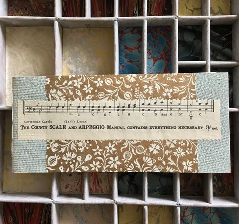 Music,score,sketchbook,Sketchbook Christmas gift handmade book handsewn book notebook journal