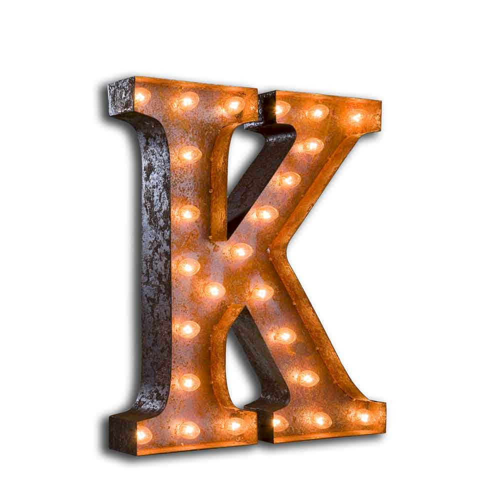 Letter Light K - product images  of